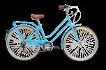 Pedal Uptown Cruiser Bike Classic Blue