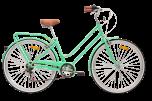 Pedal Uptown Cruiser Bike Classic Green