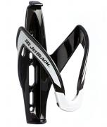 Jet Black Light Weight Bottle Cage (Black/White)   99 Bikes