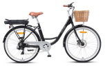 XDS E-Lectro Electric Bike Black (2020)