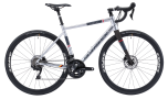 Silverback Strela Elite Disc Road Bike Silver/Watermelon (2020)
