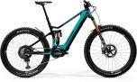 Merida eOne Sixty 10K Electric Mountain Bike Glossy Candy Teal/Matt Black (2020)