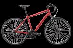 Pedal Raven 2 Hybrid Bike Dark Red
