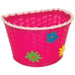 Kids Basket with Green, Blue & Yellow Flowers   99 Bikes