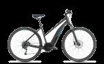 Cube Nature Hybrid ONE 400 Trapeze Electric Hybrid Bike Iridium/Blue (2020)