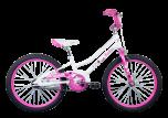 Radius Starstruck Mini 20 Girls Bike Pearl White/Pink/Purple (2020)