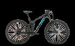 Cube Stereo 120 Pro 29 Mountain Bike Black/Blue (2020)