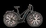 Cube Touring Hybrid ONE 500 Trapeze Electric Hybrid Bike Black/Blue (2020)