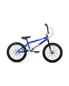 "Division Blitzer 18"" BMX Bike Metallic Blue (2022)"