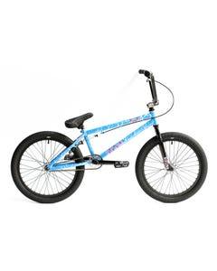 Division Reark 20 BMX Bike Crackle Blue (2020)