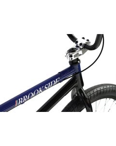 """Division Brookside 20"""" BMX Bike Black/Blue Fade (2022)"""