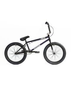 "Division Fortiz 20"" BMX Bike Black/Purple (2022)"