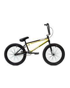 "Division Fortiz 20"" BMX Bike Black/Yellow (2022)"