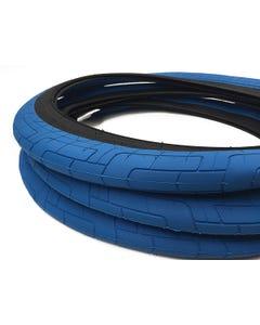 Colony Grip Lock BMX Tyre 20x2.35 Blue/Grey
