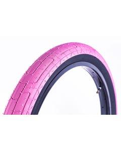 Colony Grip Lock BMX Tyre 20 x 2.35 Pink/Black