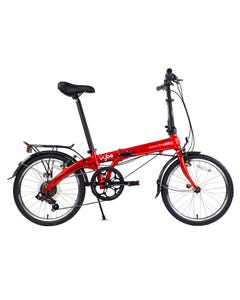 Dahon Vybe D7 Folding Bike Red