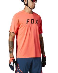 FOX Ranger Block Short Sleeve Jersey Atomic Punch