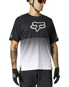 FOX Flexair Short Sleeve Jersey Black/White