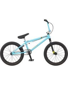 GT Jr Performer 18 Boys Bike Gloss Aqua Blue (2021)