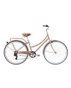 Pedal Uptown DLX Cruiser Bike Rose Gold