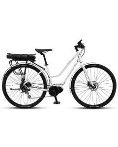 XDS E-Cruz Ladies Electric Cruiser Bike Polar White (2020)