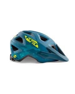 Helmets Met Eldar MIPS Petrol Blue Camo 52-57cm