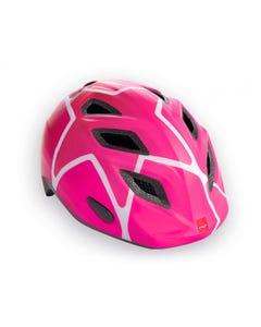 MET Genio/Elfo Pink Stars Girls Helmet