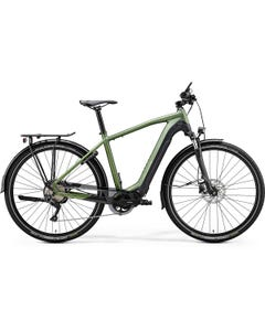 Merida eSpresso 400 EQ Electric Hybrid Bike Matt Green/Black (2020)