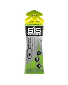 SIS GO Lemon & Mint Energy Plus Electrolytes Gel 60mL