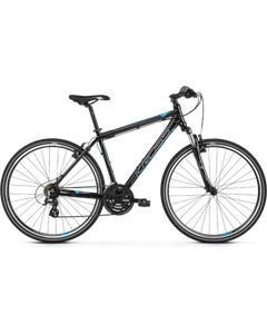 Kross Evado 2.0 700c Hybrid Bike Black/Blue (2020)