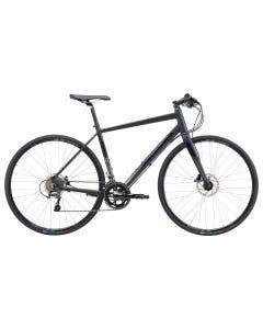 Apollo Exceed 30 Disc Flat Bar Road Bike Matte Black Gloss Black/Gloss Charcoal (2019)
