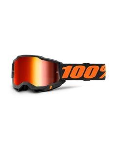 Goggles 100% Accuri 2 Chicago Mirror Red Lens