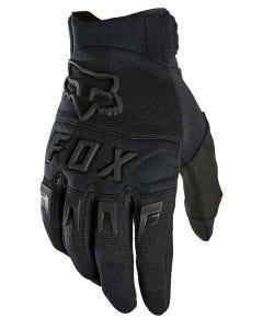 FOX Dirtpaw Full Finger Gloves Black/Black