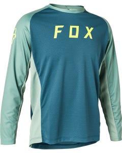 FOX Defend Youth Long Sleeve Jersey Slate Blue 2021