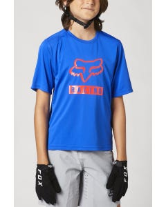 FOX Ranger Short Sleeve Youth Jersey Blue