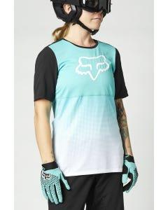 FOX Flexair Short Sleeve Women's Jersey Teal