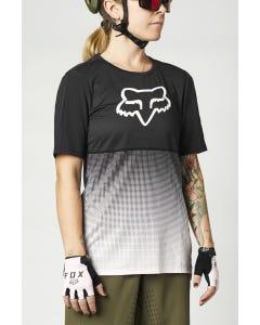 FOX Flexair Short Sleeve Women's Jersey Black/Pink
