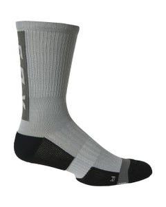 "Fox Ranger Cushion Lunar 8"" Socks Lite Grey"
