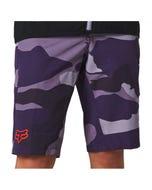 FOX Ranger Refuel Women's Shorts Purple Camo