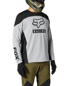 FOX Defend Long Sleeve Jersey Steel Grey