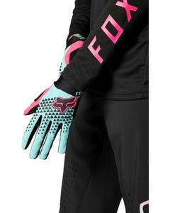 Gloves Full Finger FOX Defend Teal