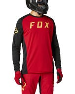 FOX Defend Long Sleeve Jersey Chili