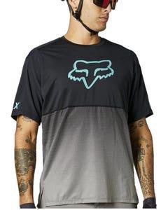 FOX Flexair Short Sleeve Jersey Teal