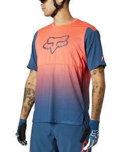 FOX Flexair Short Sleeve Jersey Atomic Punch