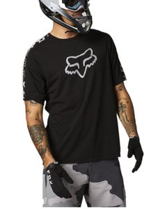 FOX Ranger DR Short Sleeve Jersey Black