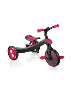 Globber Explorer 2in1 Trike Red
