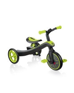Globber Explorer 2in1 Trike Lime Green