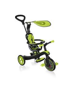 Globber Explorer 4in1 Trike Lime Green