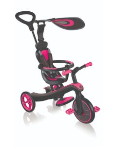 Trike Kids Globber Explorer 4in1 Pink