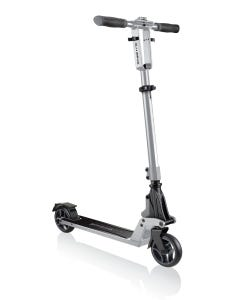 Globber One K 125 Kids Scooter Glossy Silver